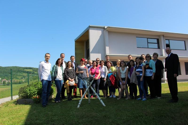 Peti medprojektni sestanek – Evropa v malem in Erasmus + na OŠ Stična