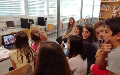 Internetna konferenca z učenci iz Španije