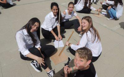 »We love Cyprus!« pravijo učenke, udeleženke srečanja na na mediteranskem otoku